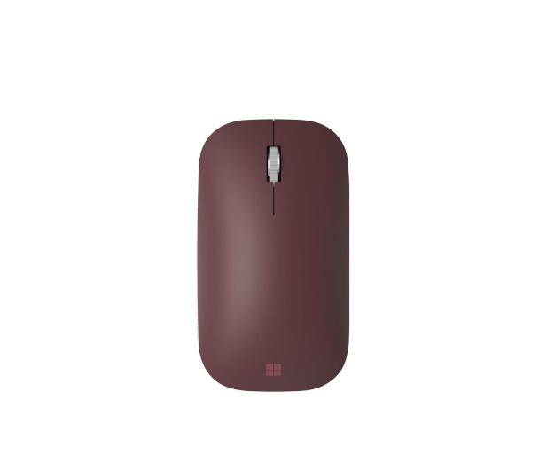 Microsoft Surface Mobile Mouse Burgundowy - 446762 - zdjęcie