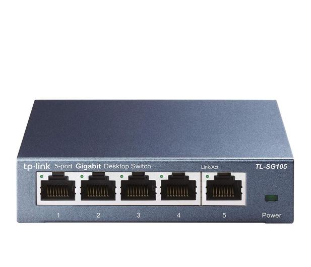 TP-Link 5p TL-SG105 Metal (5x10/100/1000Mbit) - 127182 - zdjęcie
