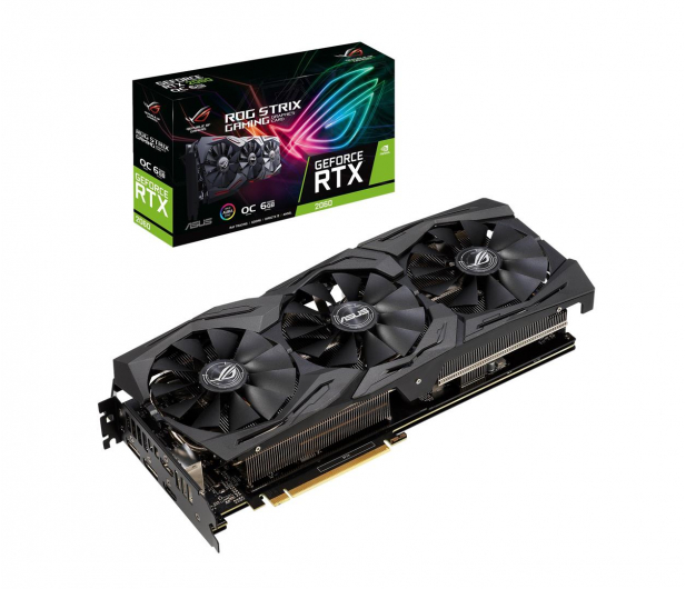ASUS GeForce RTX 2060 ROG Strix OC 6GB GDDR6  - 472177 - zdjęcie