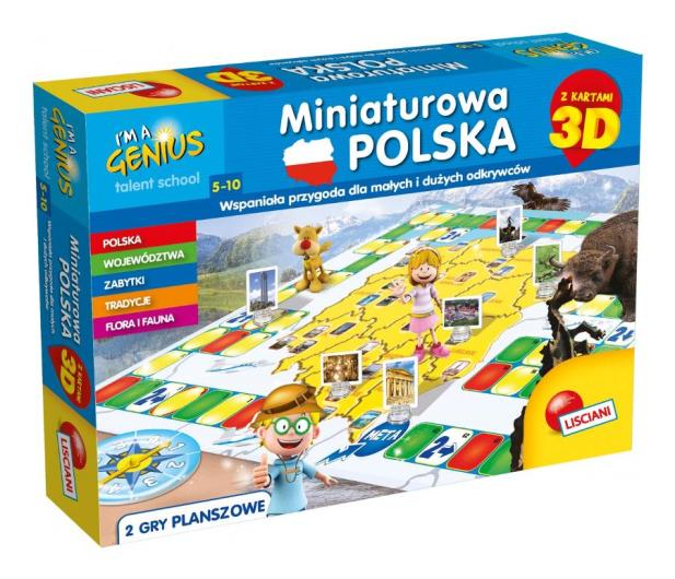 Lisciani Giochi Mały Geniusz Miniaturowa Polska 3D - 472428 - zdjęcie 2