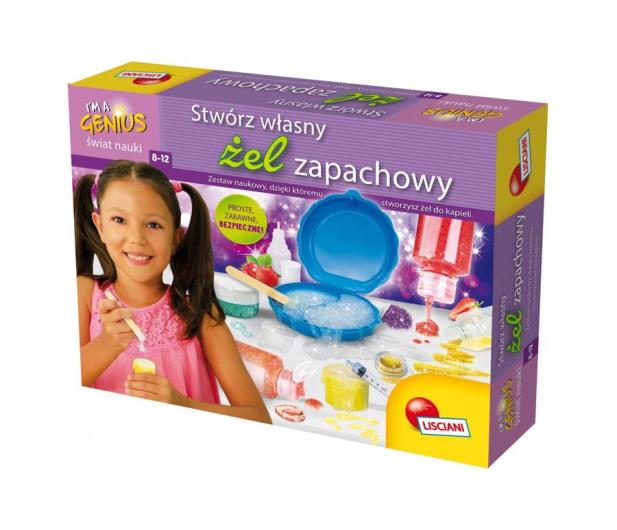 Lisciani Giochi Mały Geniusz Stwórz Własny Żel Zapachowy  - 472437 - zdjęcie