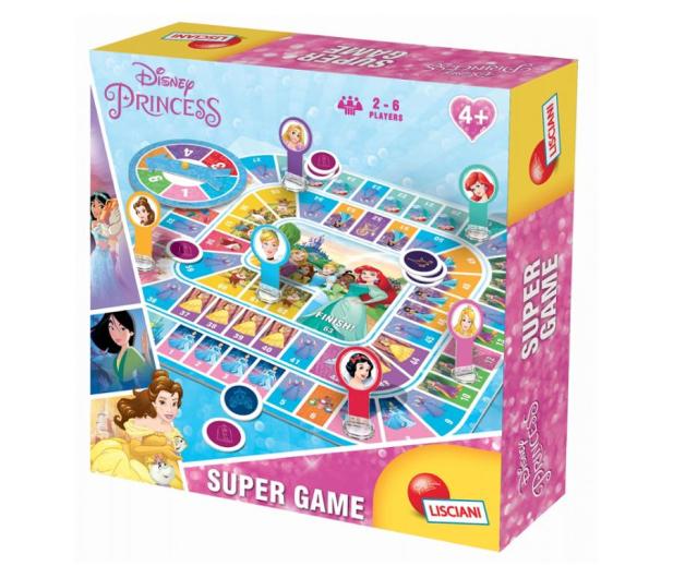 Lisciani Giochi Disney Księżniczki Super Gra - 472461 - zdjęcie