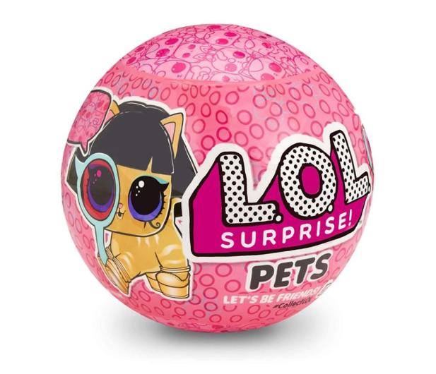 MGA Entertainment L.O.L Surprise Pets Zwierzątko Eye Spy S4-2 - 472281 - zdjęcie