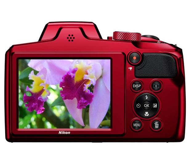 Nikon Coolpix B600 czerwony - 474126 - zdjęcie 3