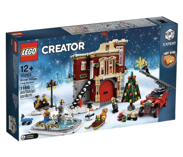 LEGO Creator Remiza strażacka w zimowej wiosce - 474674 - zdjęcie