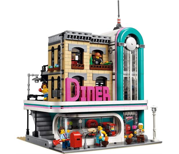 LEGO Creator Bistro w śródmieściu - 474676 - zdjęcie 3