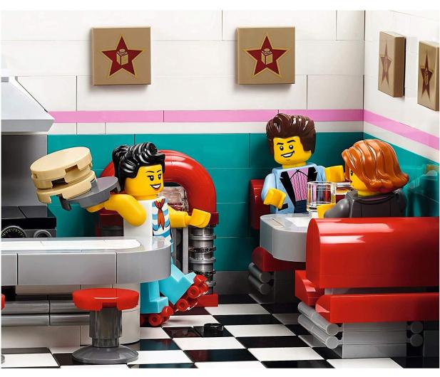 LEGO Creator Bistro w śródmieściu - 474676 - zdjęcie 6
