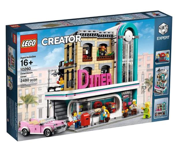 LEGO Creator Bistro w śródmieściu - 474676 - zdjęcie