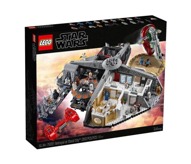 LEGO Star Wars Zdrada w Mieście w Chmurach - 474672 - zdjęcie