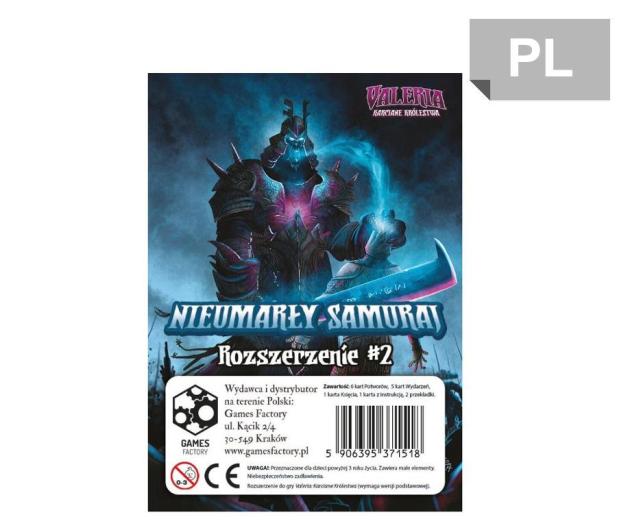 Games Factory Valeria Karciane Królestwa Nieumarły Samuraj - 452511 - zdjęcie