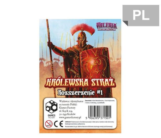 Games Factory Valeria Karciane Królestwa Królewska Straż: Roz 1 - 452507 - zdjęcie