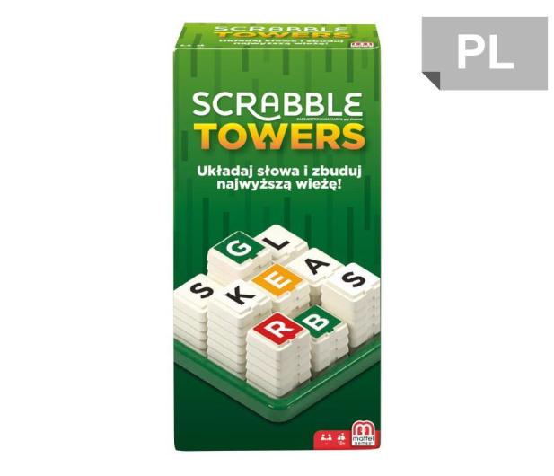 Mattel Scrabble Towers - 436988 - zdjęcie