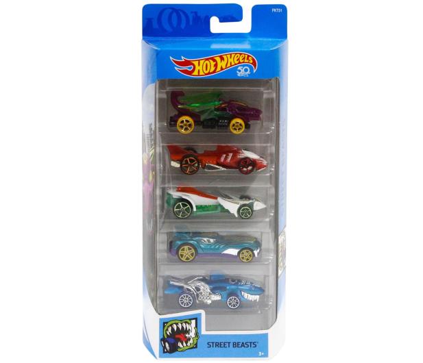 Hot Wheels Zestaw samochodzików 5-pak - 471497 - zdjęcie