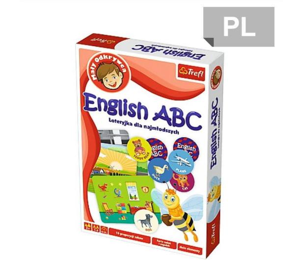 Trefl Mały odkrywca English ABC  - 467837 - zdjęcie