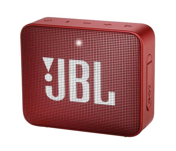 JBL GO 2 Czerwony - 427974 - zdjęcie