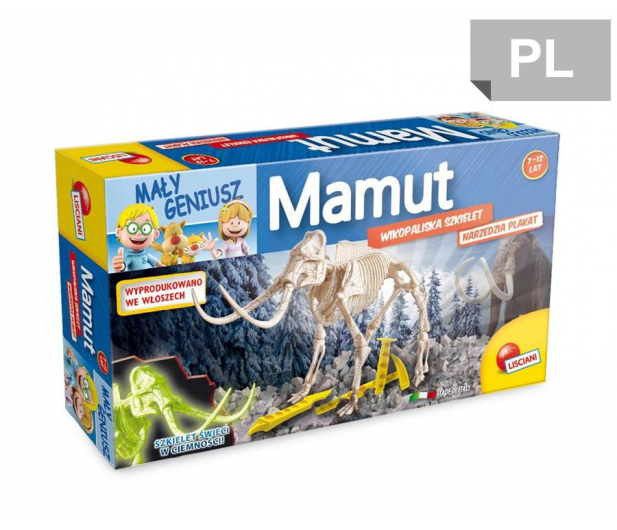 Lisciani Giochi Discovery Mamut Świeci W Ciemności - 471748 - zdjęcie
