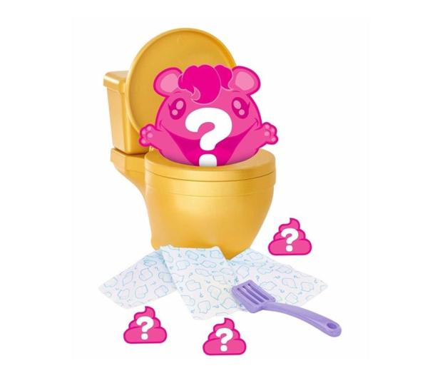 Mattel Pooparoos Toaleta żółta z niespodzianką  - 474039 - zdjęcie 2