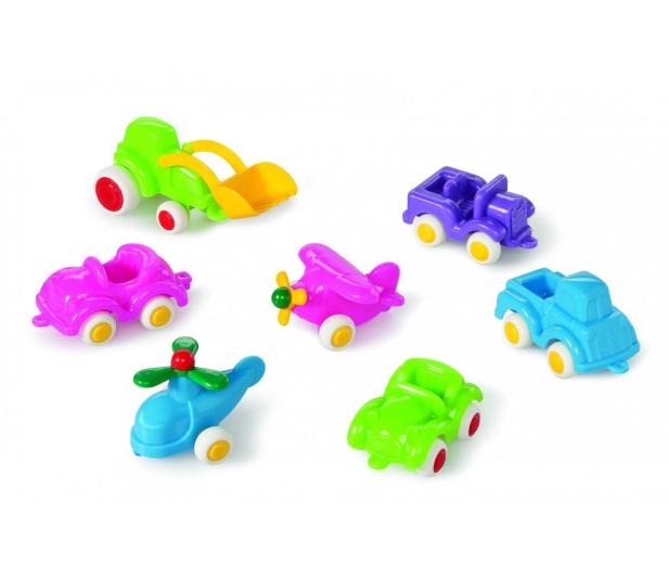 Viking Toys Pojazdy Mini Chubbies Baby 7 Szt. Box - 471467 - zdjęcie 2