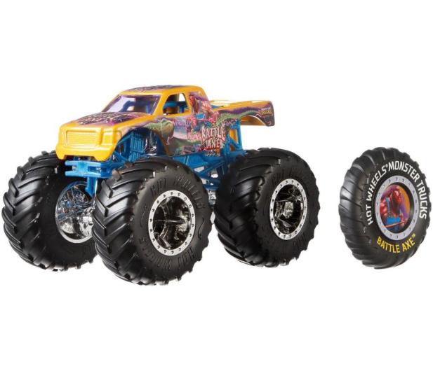 Hot Wheels Monster Trucks Pojazd 1:64 mix - 471504 - zdjęcie 2