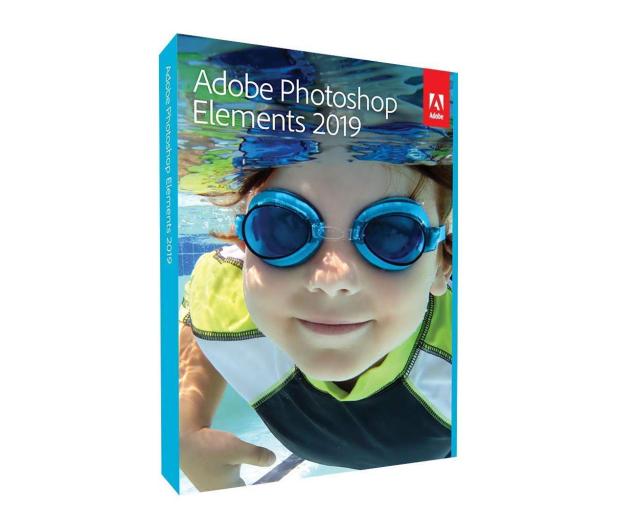 Adobe Photoshop Elements 2019 WIN [PL] BOX  - 463001 - zdjęcie