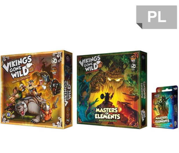 Games Factory Vikings gone Wild - zestaw podstawka + dodatki - 446243 - zdjęcie