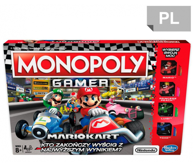 Hasbro Monopoly Gamer Mario Kart - 450896 - zdjęcie