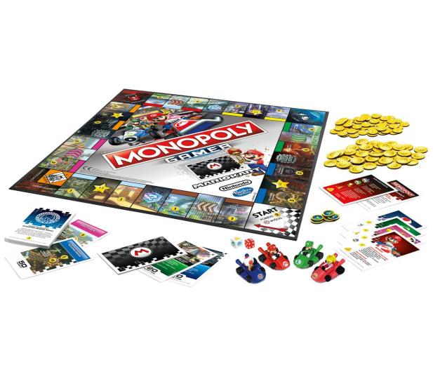 Hasbro Monopoly Gamer Mario Kart - 450896 - zdjęcie 3