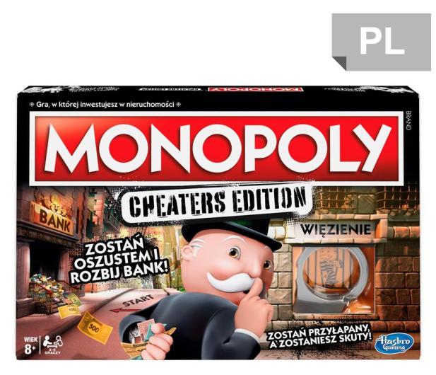 Hasbro Monopoly Cheaters Edition - 450895 - zdjęcie