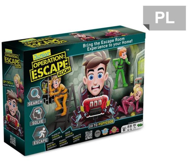 TM Toys Operacja: Escape Room Junior - 453713 - zdjęcie 1