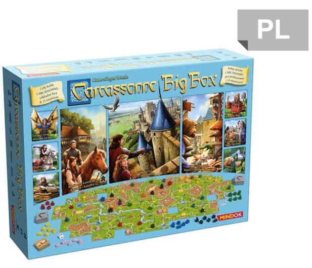 Mindok Carcassonne Big Box 6  - 386452 - zdjęcie
