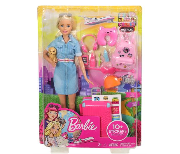 Barbie Lalka w podróży + akcesoria - 476426 - zdjęcie 6