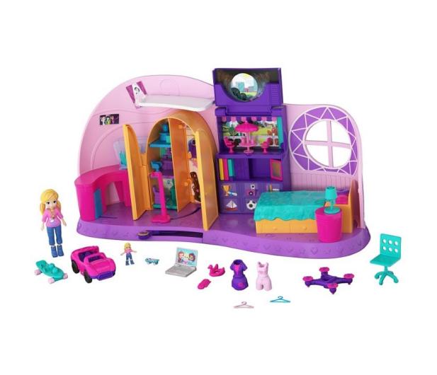 Mattel Polly Pocket Magiczny Pokoik - 476399 - zdjęcie