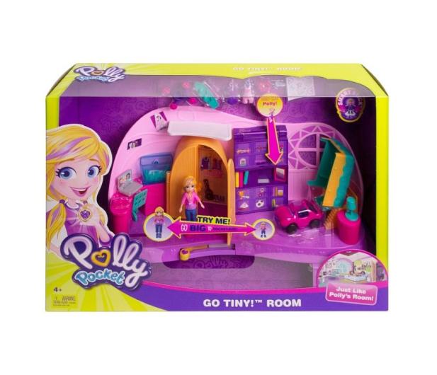 Mattel Polly Pocket Magiczny Pokoik - 476399 - zdjęcie 2