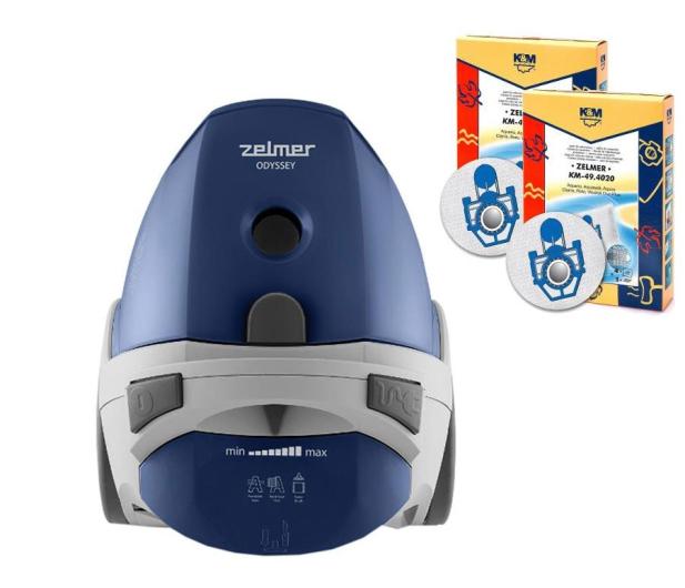 Zelmer ZVC307XT w zestawie 9 worków i 3 filtry - 436712 - zdjęcie