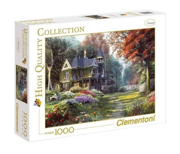 Clementoni Puzzle HQ  Victorian garden - 417123 - zdjęcie