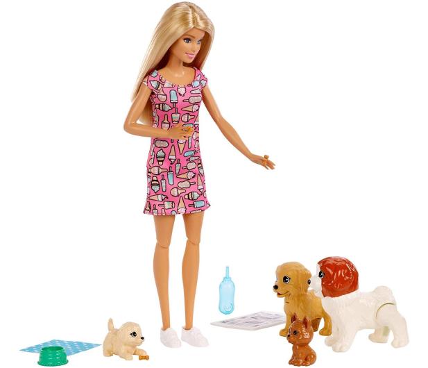 Barbie  Opiekunka piesków zestaw z lalką - 471305 - zdjęcie 7