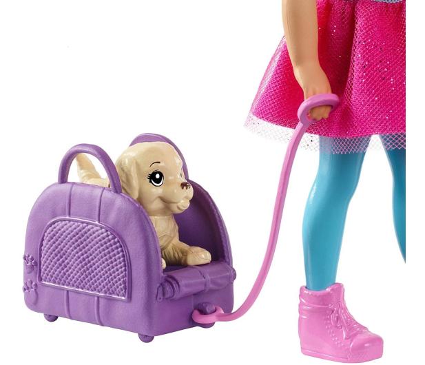 Barbie Lalka Chelsea w podróży - 471314 - zdjęcie 3