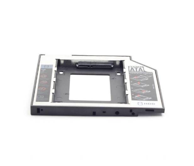 """Gembird Adapter na dysk 2.5"""" do laptopa (slot DVD 12.7mm) - 471278 - zdjęcie 3"""
