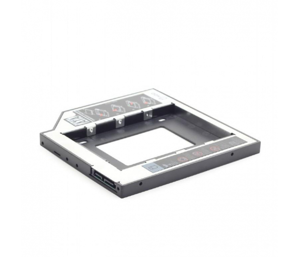 "Gembird Adapter 5.25"" do dysku 2.5"" (slot DVD 12.7mm) - 471278 - zdjęcie 2"