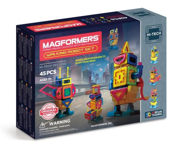 Magformers Walking Robot 45 El. - 471347 - zdjęcie