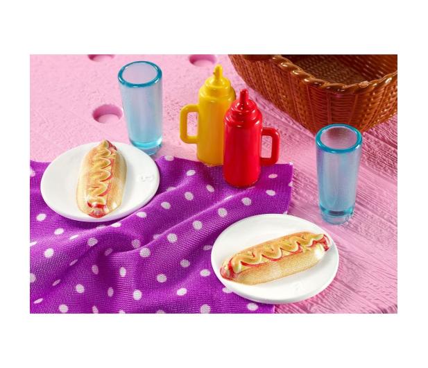 Barbie Mebelki ogrodowe Stół piknikowy - 471423 - zdjęcie 5