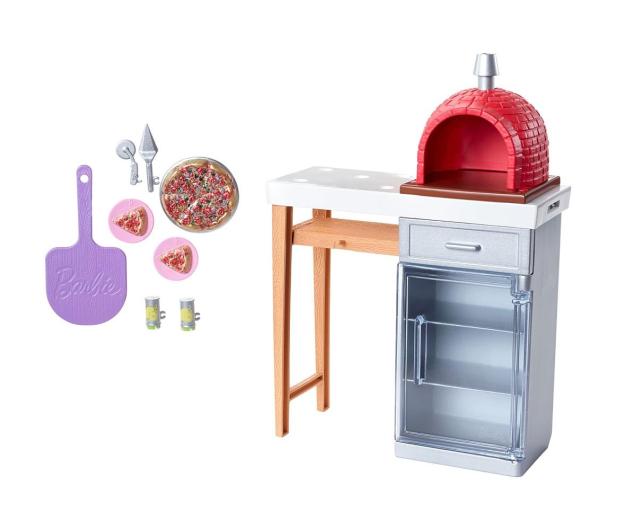 Barbie Mebelki ogrodowe Zestaw Do Pizzy - 471425 - zdjęcie 2