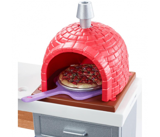 Barbie Mebelki ogrodowe Zestaw Do Pizzy - 471425 - zdjęcie 3