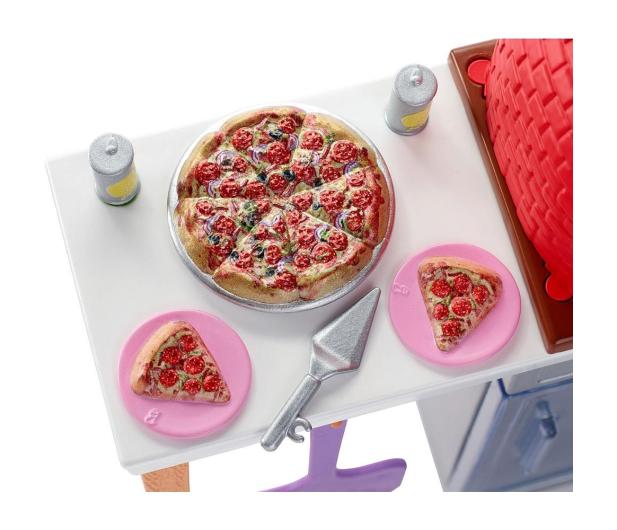 Barbie Mebelki ogrodowe Zestaw Do Pizzy - 471425 - zdjęcie 4