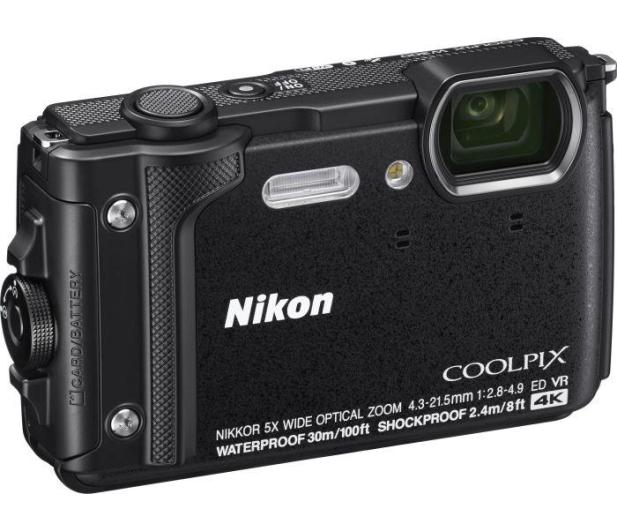 Nikon Coolpix W300 czarny kit - 466025 - zdjęcie 3