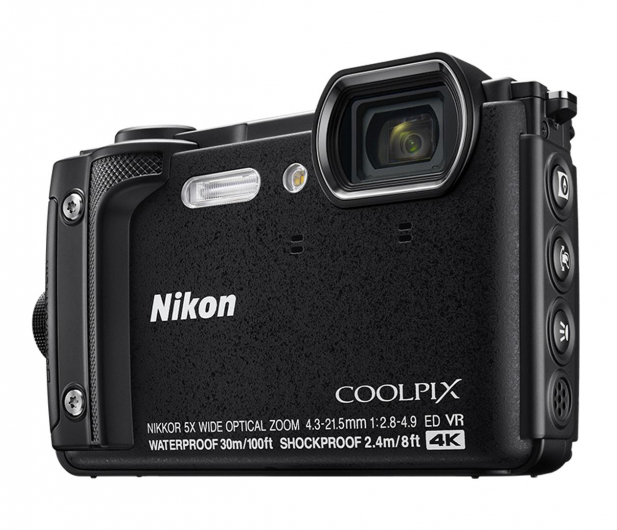 Nikon Coolpix W300 czarny kit - 466025 - zdjęcie