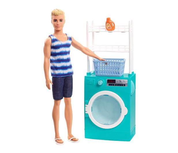 Barbie Zestaw Ken w pralni - 471449 - zdjęcie