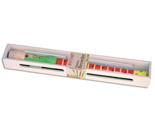 Bontempi Play Drewniany Kolorowy Flet - 471436 - zdjęcie