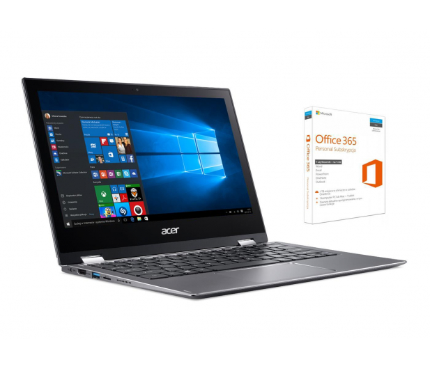Acer Spin 1 N4200/4GB/64/Win10 IPS FHD +Rysik - 441916 - zdjęcie