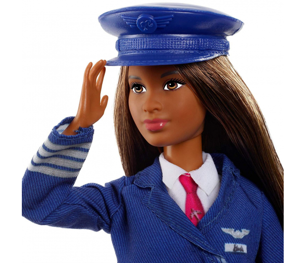 Barbie Kariera 60 urodziny Lalka Pilot - 471407 - zdjęcie 3